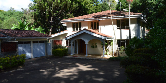 4br Villa in Runda: To Let.