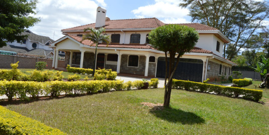 5br Villa in Runda: To Let.