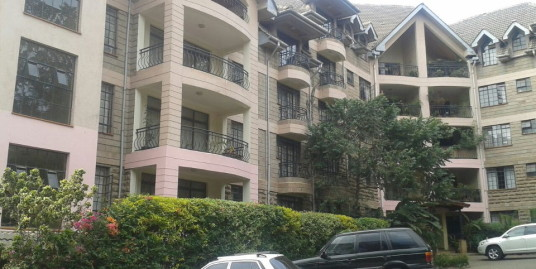 Riverside Drive: 3 BR Penthouse.  To Let.