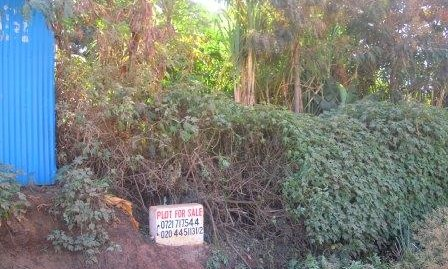 Githurai: Vacant Plot for Sale.