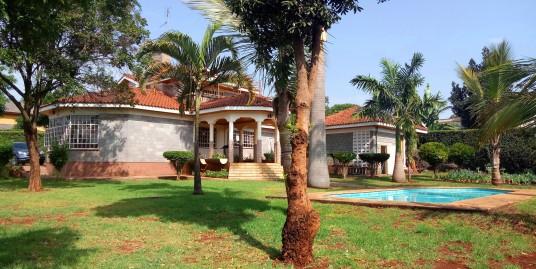 Runda Mimosa: 5 BR Mansion.