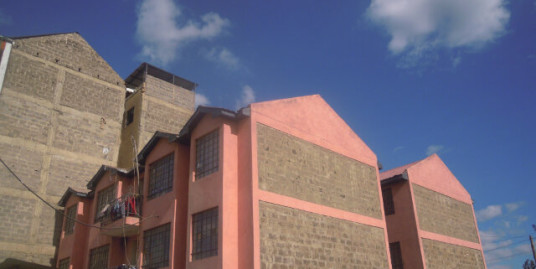 Kitengela: Block, 2 BR Apts.