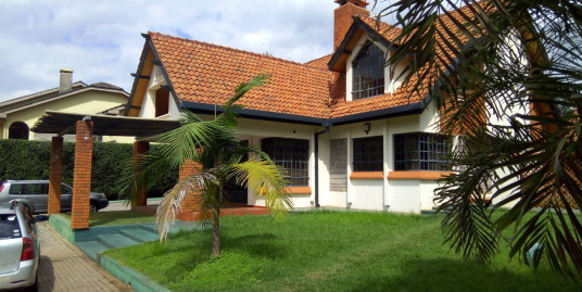 4bedroom Ambassadorial Muthaiga North -To let