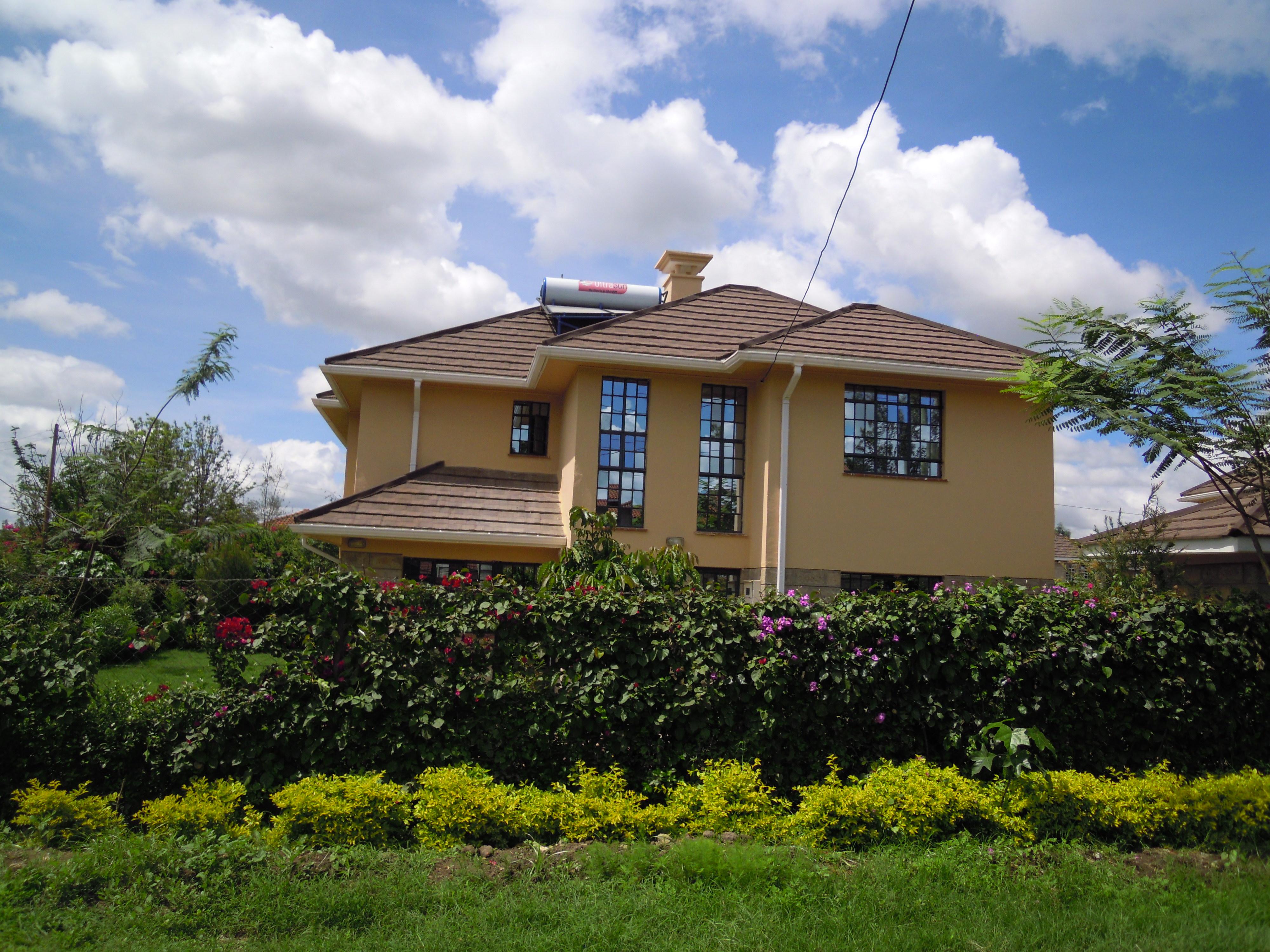 Kitengela Town: 4 BR New Villas.