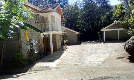 Kileleshwa: 5BR Double Storey.